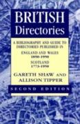 Cover-Bild zu Gareth Shaw, Shaw: British Directories 2nd ed (eBook)
