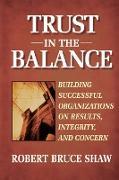 Cover-Bild zu Shaw: Trust in the Balance