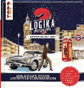 Cover-Bild zu Logika Adventskalenderbuch - London Agency 1960: Mit 24 illustrierten Logikrätsel durch den Advent von Behnke, Christiane (Illustr.)