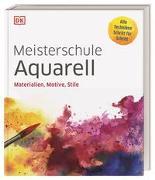 Cover-Bild zu Meisterschule Aquarell von Krabbe, Wiebke (Übers.)