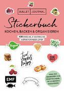Cover-Bild zu Bullet Journal - Stickerbuch: Kochen, Backen & Organisieren