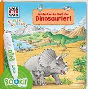 Cover-Bild zu Schreuder, Benjamin: BOOKii® WAS IST WAS Kindergarten Entdecke die Welt der Dinosaurier!