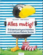 Cover-Bild zu Moost, Nele: Der kleine Rabe Socke: Alles mutig!