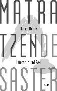 Cover-Bild zu Moritz, Rainer: Matratzendesaster. Literatur und Sex (eBook)