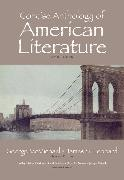 Cover-Bild zu Bradley, David: Concise Anthology of American Literature