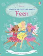 Cover-Bild zu Watt, Fiona: Mein Anziehpuppen-Stickerbuch: Feen