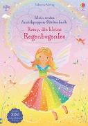 Cover-Bild zu Watt, Fiona: Mein erstes Anziehpuppen-Stickerbuch: Romy, die kleine Regenbogenfee