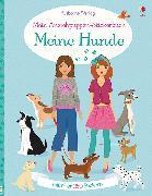 Cover-Bild zu Watt, Fiona: Mein Anziehpuppen-Stickerbuch: Meine Hunde
