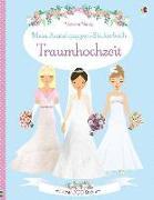 Cover-Bild zu Watt, Fiona: Mein Anziehpuppen-Stickerbuch: Traumhochzeit