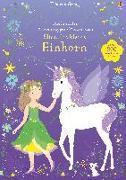 Cover-Bild zu Watt, Fiona: Mein erstes Anziehpuppen-Stickerbuch: Elisa, das kleine Einhorn