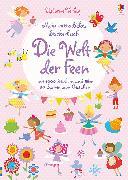 Cover-Bild zu Watt, Fiona: Mein extradickes Stickerbuch: Die Welt der Feen