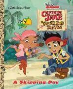 Cover-Bild zu A Skipping Day (Disney Junior: Jake and the Neverland Pirates) von Posner-Sanchez, Andrea