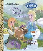 Cover-Bild zu A New Reindeer Friend (Disney Frozen) von Julius, Jessica