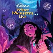 Cover-Bild zu Where Monsters Live (Disney Moana) von RH Disney