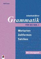 Cover-Bild zu Arbeitsblätter Grammatik für die Sek. 1. Mit Lösungsteil von Esser, Rolf