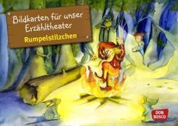 Cover-Bild zu Bildkarten für unser Erzähltheater: Rumpelstilzchen von Lefin, Petra (Illustr.)