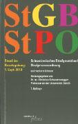 Cover-Bild zu StGB - Schweizerisches Strafgesetzbuch / StPO - Schweizerische Strafprozessordnung von Schwarzenegger, Christian (Hrsg.)