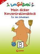 Cover-Bild zu LernSpielZwerge - Mein dicker Konzentrationsblock für den Schulstart von Merle, Katrin (Illustr.)