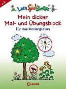 Cover-Bild zu LernSpielZwerge - Mein dicker Mal- und Übungsblock für den Kindergarten von Merle, Katrin (Illustr.)