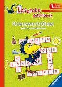 Cover-Bild zu Kreuzworträtsel zum Lesenlernen (1. Lesestufe), grün von Richter, Martine