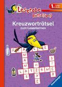 Cover-Bild zu Kreuzworträtsel zum Lesenlernen (1. Lesestufe), lila von Richter, Martine