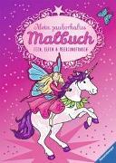 Cover-Bild zu Mein zauberhaftes Malbuch: Feen, Elfen und Meerjungfrauen von Merle, Katrin (Illustr.)