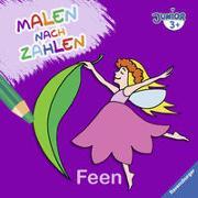 Cover-Bild zu Malen nach Zahlen junior: Feen von Merle, Katrin (Illustr.)