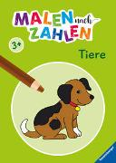 Cover-Bild zu Malen nach Zahlen ab 3 Jahren: Tiere von Merle, Katrin (Illustr.)