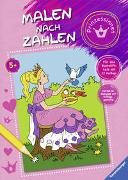 Cover-Bild zu Malen nach Zahlen ab 5 Jahren: Prinzessinnen von Merle, Katrin (Illustr.)