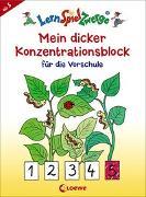 Cover-Bild zu LernSpielZwerge - Mein dicker Konzentrationsblock für die Vorschule von Merle, Katrin (Illustr.)
