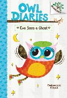 Cover-Bild zu Eva Sees a Ghost: Branches Book (Owl Diaries #2) (Library Edition), Volume 2 von Elliott, Rebecca