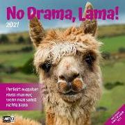 Cover-Bild zu No Drama, Lama! Kalender 2021 - 30x30 von Ackermann Kunstverlag (Hrsg.)