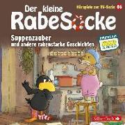 Cover-Bild zu diverse, (Gelesen): Der kleine Rabe Socke - Suppenzauber und andere rabenstarke Geschichten