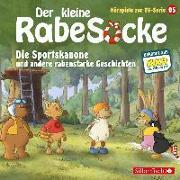 Cover-Bild zu diverse, (Gelesen): Der kleine Rabe Socke - Die Sportskanone und andere rabenstarke Geschichten