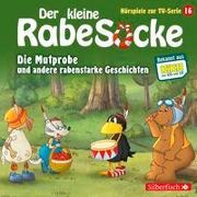 Cover-Bild zu diverse, (Gelesen): Der kleine Rabe Socke - Die Mutprobe und andere rabenstarke Geschichten (Hörspiele zur TV Serie 16)