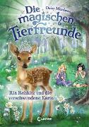 Cover-Bild zu Die magischen Tierfreunde 16 - Ria Rehkitz und die verschwundene Karte von Meadows, Daisy
