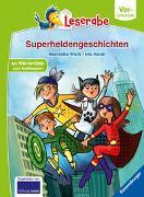 Cover-Bild zu Wich, Henriette: Superheldengeschichten - Leserabe ab Vorschule - Erstlesebuch für Kinder ab 5 Jahren
