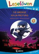 Cover-Bild zu Wich, Henriette: Leselöwen 2. Klasse - Die große Ninja-Prüfung