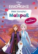 Cover-Bild zu Disney Die Eiskönigin 2: Mein Vorschulmalspaß. Erste Buchstaben von The Walt Disney Company (Illustr.)