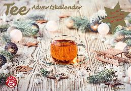 Cover-Bild zu Tee-Adventskalender 2021 - Teekalender - Adventskalender - Teesorten - Genusskalender - 55,5 x 39 x 2 cm