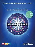 Cover-Bild zu Wer wird Millionär 2021 Tagesabreißkalender - 11,8x15,9 - Rätselkalender - Knobelkalender - Tischkalender