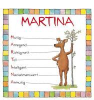 Cover-Bild zu Namenskalender Martina von Mayr, Johann (Illustr.)