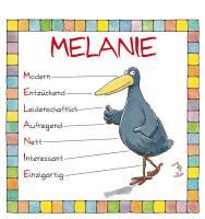 Cover-Bild zu Namenskalender Melanie von Mayr, Johann (Illustr.)
