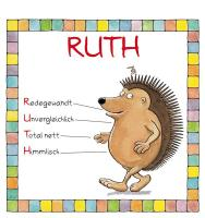 Cover-Bild zu Namenskalender Ruth von Mayr, Johann (Illustr.)
