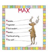 Cover-Bild zu Namenskalender Max von Mayr, Johann (Illustr.)