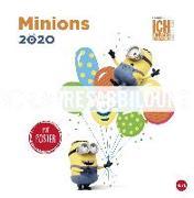 Cover-Bild zu Minions Broschurkalender Kalender 2021