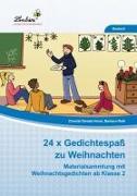 Cover-Bild zu Horst, Chantal Daniela: 24x Gedichtespaß zu Weihnachten (PR)