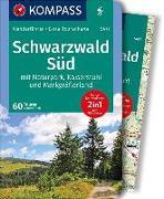 Cover-Bild zu KOMPASS Wanderführer Schwarzwald Süd mit Naturpark, Kaiserstuhl und Markgräflerland. 1:75'000