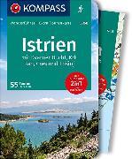 Cover-Bild zu KOMPASS Wanderführer Istrien. 1:50'000