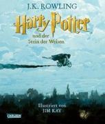 Cover-Bild zu Rowling, J.K.: Harry Potter und der Stein der Weisen (farbig illustrierte Schmuckausgabe) (Harry Potter 1)